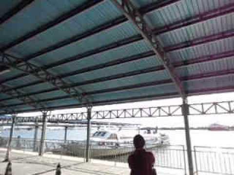 Serasa Ferry Terminal boarding for Labuan Malaysia  Brunei - April 2013