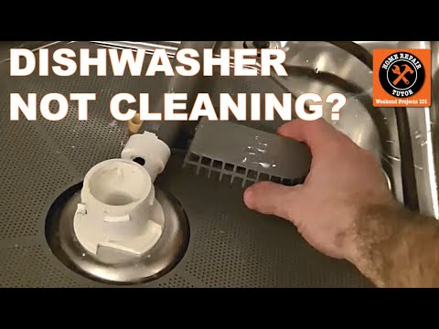 Dishwasher Not Cleaning-How to Get Your Dishwasher to Clean Better - by Home Repair Tutor