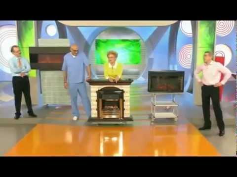 Электрокамины, камины  на 1-м канале ТВ в передаче Жить здорово