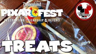 Chow'n down on Pixar Fest Treats and Food with the Chubs!