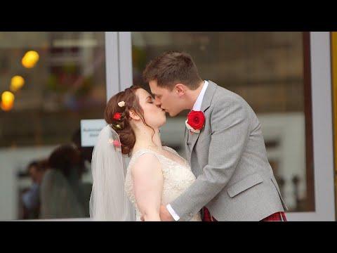 Louise & Danny Edinburgh Hub Wedding Highlights