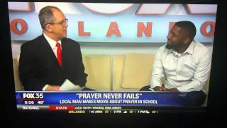 Wes Miller interview on Good Day Orlando for his film Prayer Never Fails