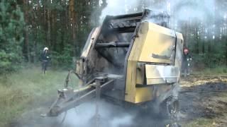 Pożar belarki