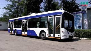 Новые троллейбусы скоро появятся на дорогах Бишкека