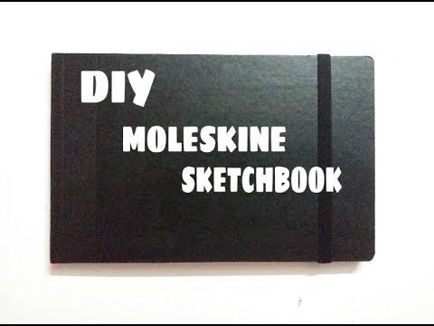 DIY MOLESKINE SKETCHBOOK | DIY SKETCHBOOK | Dreamcatcher-kay