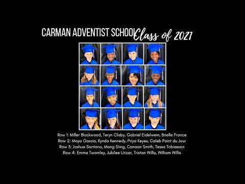 Carman Adventist School Kindergarten Graduation | May 13, 2021