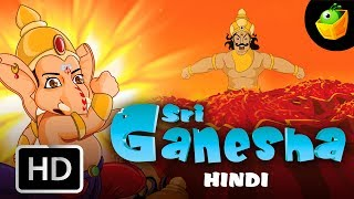 Sri Ganesha | Full Movie (HD) In Hindi | MagicBox Animation | Animated Stories For Kids