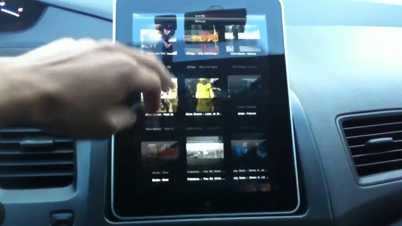 Ipad Mounted Honda Civic 8th Youtube