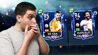 TOTY DE GEA & MARCELO in FIRST PACK FIFA MOBILE 19!