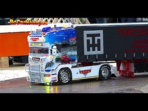 RC MODEL TRUCK ACTION at fair Modell-Hobby-Spiel 2017 Leipzig 5