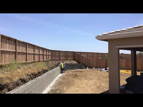 How To Install A Cinder Block Retaining Wall