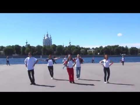 Русь танцевальная всероссийский флешмоб г. Санкт-Петербург