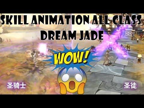 Skill Animation All Class Dream Jade And Description Skill - Dragon Nest Korea