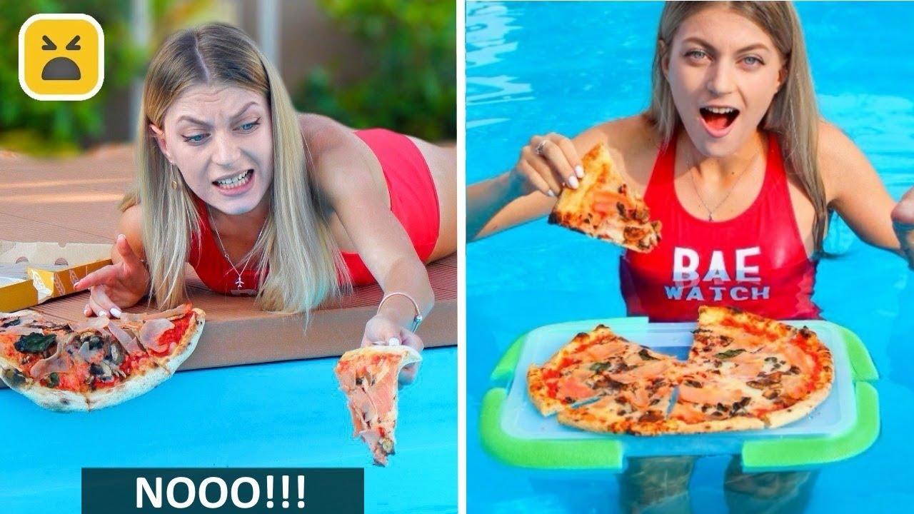 FUNNY POOL HACKS & GAMES! More Summer DIY Life Hacks