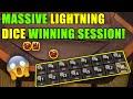 Massive Lightning Dice Winning Session   BetStars Online Casino   Lemons & Sevens