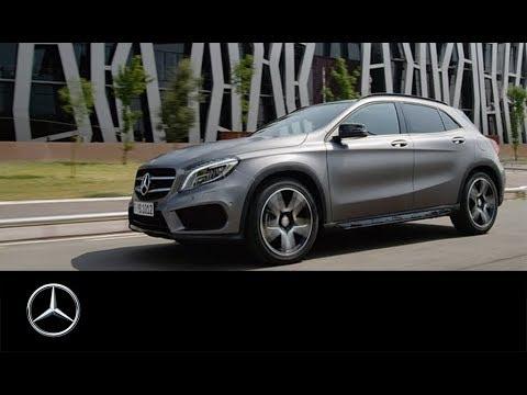 GLA – das neue Kompakt-SUV von Mercedes-Benz.