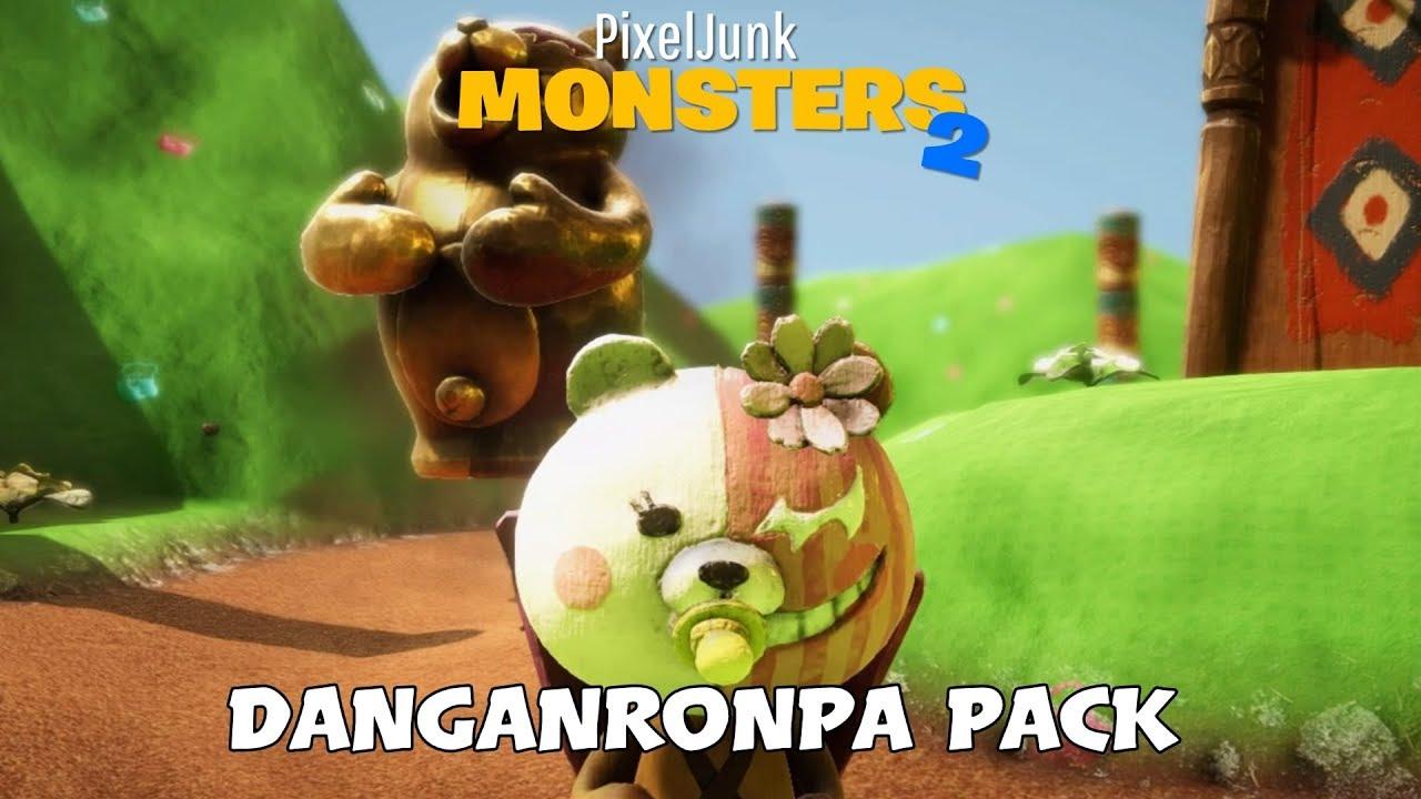 Pixeljunk Monsters 2 Danganronpa Pack Youtube