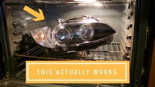 FIXING STUPID CONDENSATED HEADLIGHTS! (Replaced all models and replaced shell)