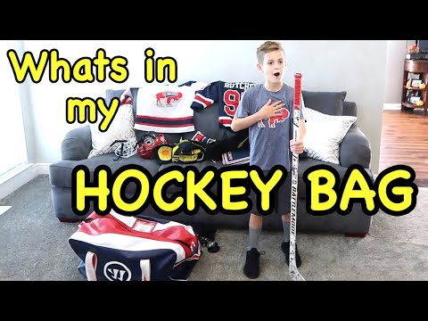 Whats In MY HOCKEY BAG 2018