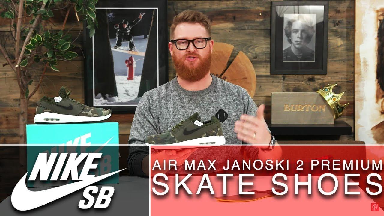 2019 Nike SB Air Max Janoski 2 Premium Skate Shoes
