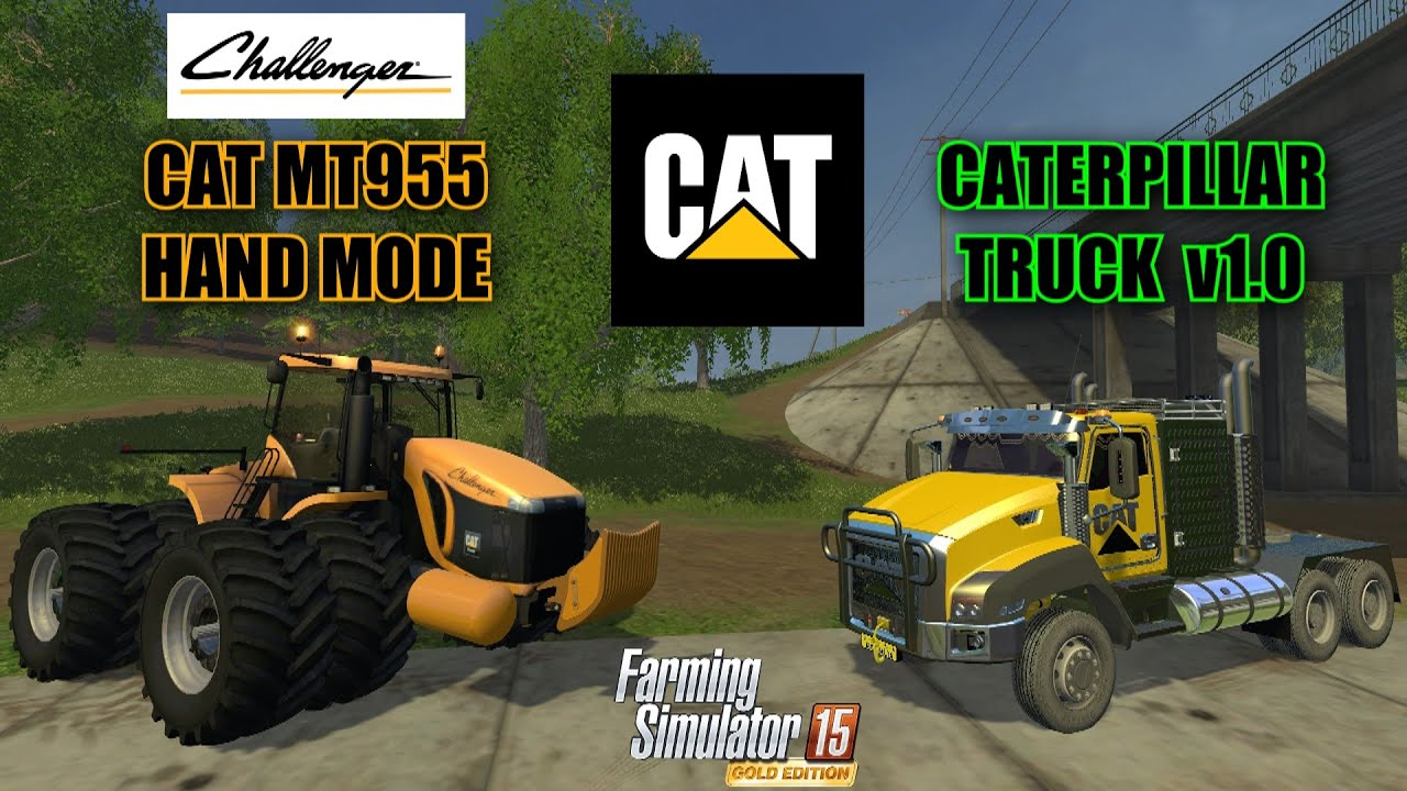 2015 cat truck