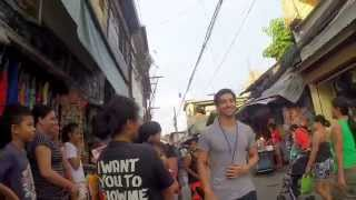 10 hours of walking in Manila (Philippines Social Experiment)