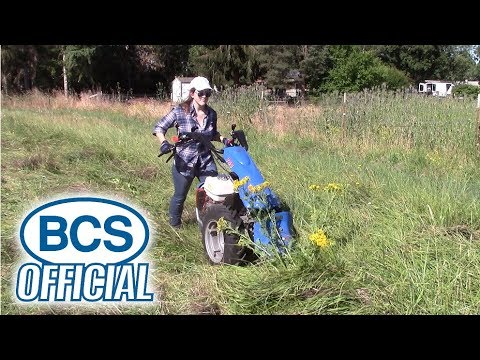 BCS Dual Action Sickle Bar Operation Tips