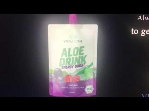 Vegas Cosmetics Energy Drink 100% Bio, Weltneuheit,patentiert