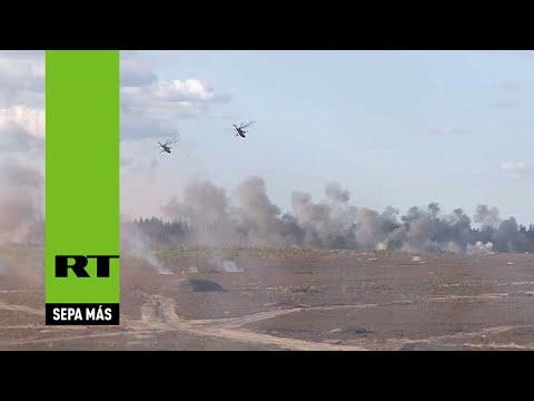 'Escudo de la Unión 2015': Los ejércitos ruso y bielorruso entrenan codo con codo