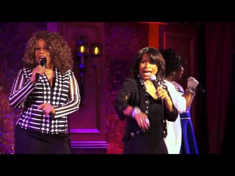 Lucy Martin, Alfa Anderson and Norma Jean Wright - Sarah Dash's 70th Birthday - Studio 54 Below