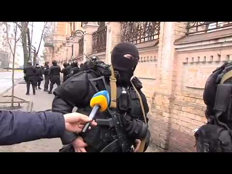 death squads or how kill people in Kiev. 20.02.2014