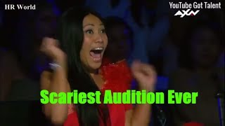 [Eng-Vietsub] Ảo thuật ma ám ĐÁNG SỢ NHẤT lịch sử Got Talent: Giám khảo sợ hãi bỏ chạy khỏi ghế (V2)