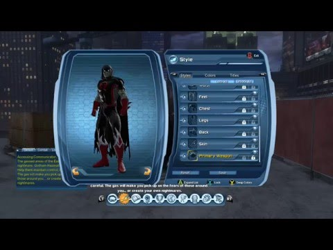 DC Universe Online xbox one gameplay part 2  (Atomic)