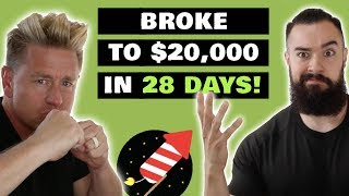 $20,000 In 28 Days Here's How He Did It! (Passive Income 2018)