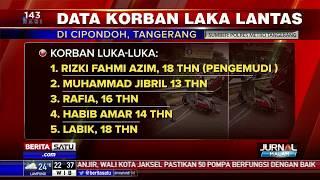 Daftar Korban Kecelakaan Tunggal Pick Up di Cipondoh
