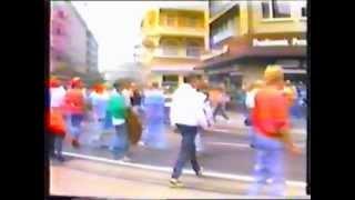 Repeat youtube video 1988-06-15 | England - Holland 1:3 | Randale Düsseldorf EURO '88