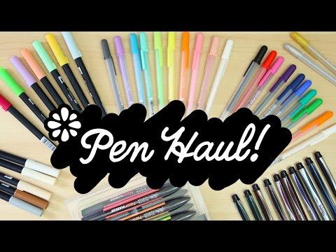 Pen Haul! | Sea Lemon