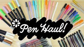 Pen Haul!   Sea Lemon