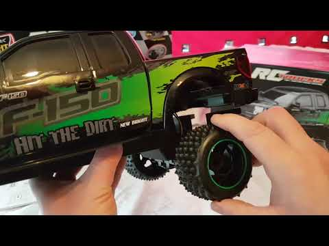Argos ,New bright rc ,ford ranger truck unboxing review