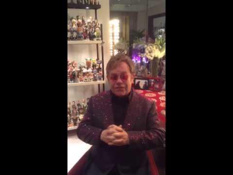 Elton John Congratulates Jeff Hanson