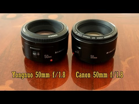 Yongnuo 50mm f/1.8 VS Canon! Comparison and full review (full-frame and APS-C)