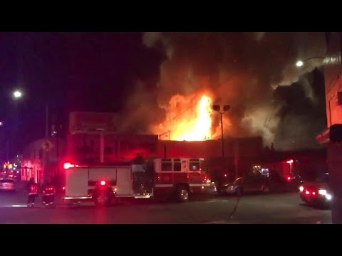 Oakland Warehouse Fire Kills Dozens