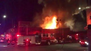 Oakland Warehouse Fire Kills Dozens