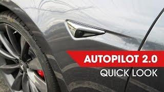 Tesla Autopilot 2.0 - Quick Look