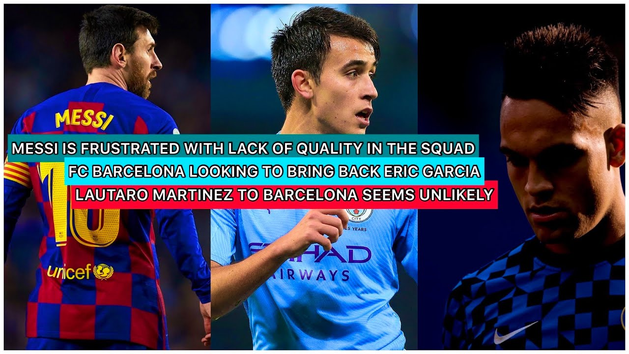 """MESSI'S INTENTIONS RIGHT NOW IS TO LEAVE FC BARCELONA    MESSI JOINING MAN CITY IS """"REAL"""" EXPLAINED"""