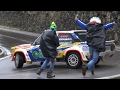 Paolo Diana Show + Drunk Spectators - Fiat 131 Racing Proto @ Rally Legend 2016!