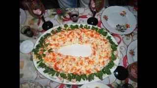 фото вкусных салатов и нарезки