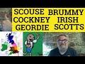 Frame from A Variety of Regional British Accents - ESL British English Pronunciation