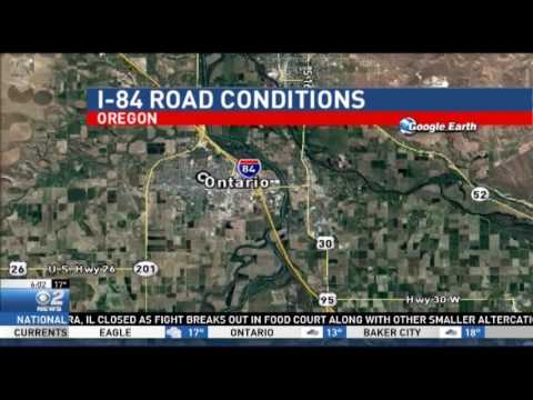 I 84 Road Conditions Dec 27 YouTube