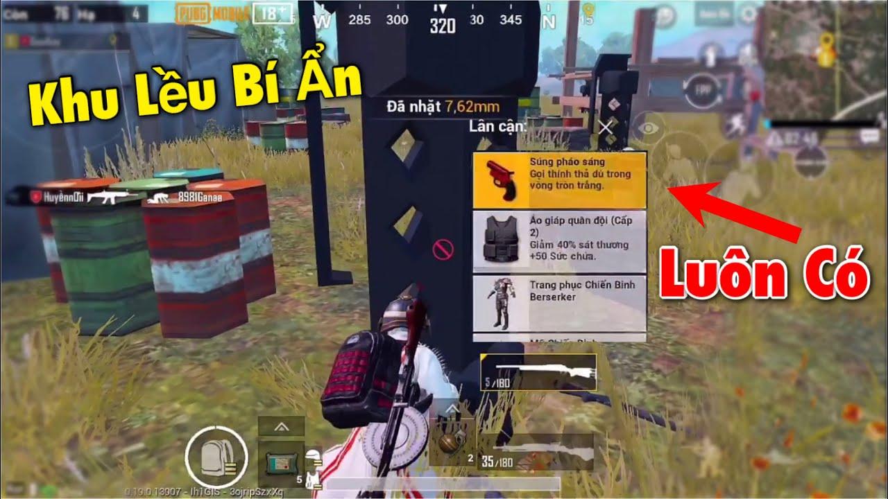 PUBG Mobile | Khu Lều Bí Ẩn Luôn Có Flare Gun - M24 Đục Tường Như Hack 🤣